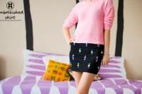 Eye-Catching DIY Embellished Skirt To Make