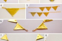 Perfect DIY Gold Geometric Chain Necklace 5