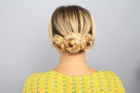 Quick DIY Braided Updo For Ladies 7