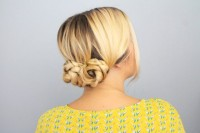Quick DIY Braided Updo For Ladies 8