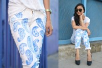 Super Cool DIY Printed Denim 6