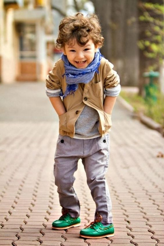 Picture Of awesome and trendy haircuts for little boys  16