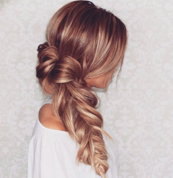 Picture Of cute and easy first date hairstyle ideas  20