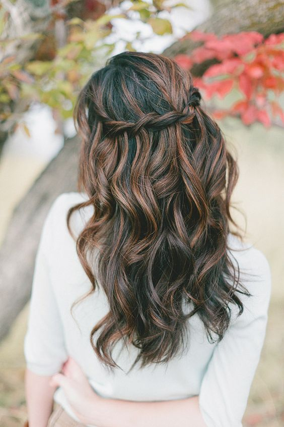 Picture Of cute and easy first date hairstyle ideas  3
