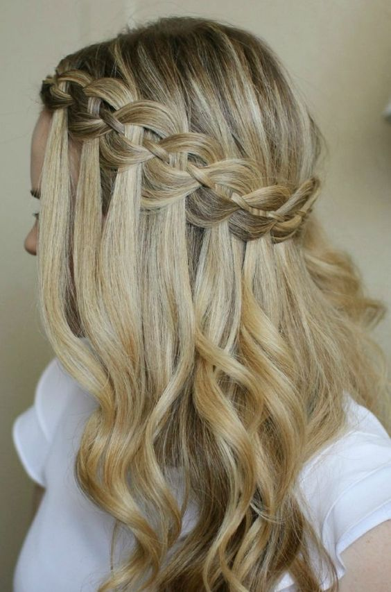 Picture Of cute and easy first date hairstyle ideas  5