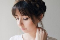 cute-diy-milkmaid-braids-for-thick-hair-1