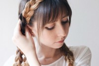 cute-diy-milkmaid-braids-for-thick-hair-2