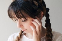 cute-diy-milkmaid-braids-for-thick-hair-3