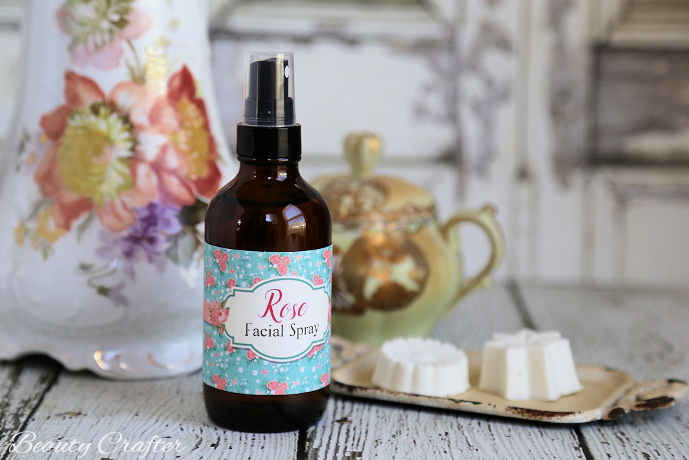 Picture Of diy moisturizing facial toner spray of rose  1