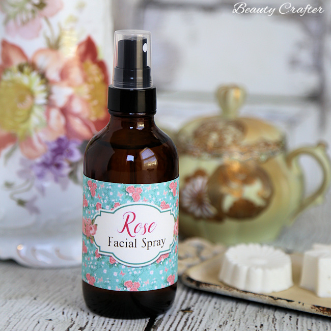 Picture Of diy moisturizing facial toner spray of rose  2