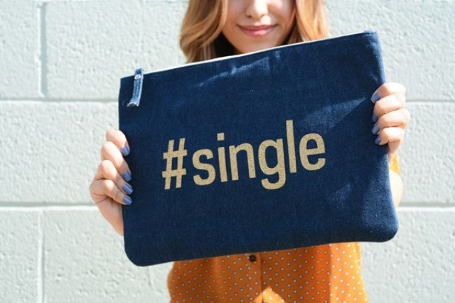 DIY Reversible #Single And #Taken Clutch
