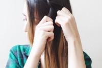 Easy DIY dutch braid