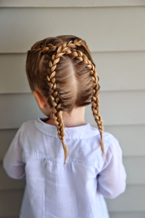 Picture Of edgy braided hairstyles for little girls  1