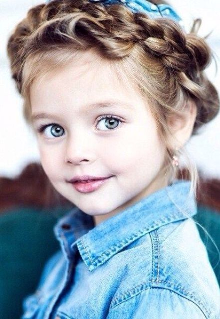 21 Edgy Braided Hairstyles For Little Girls - Styleoholic