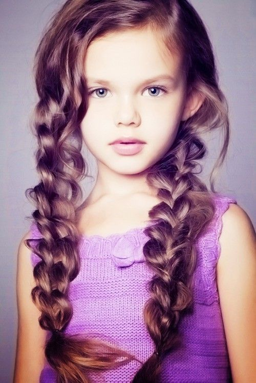 Picture Of edgy braided hairstyles for little girls  13