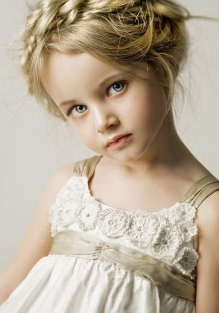Picture Of edgy braided hairstyles for little girls  14