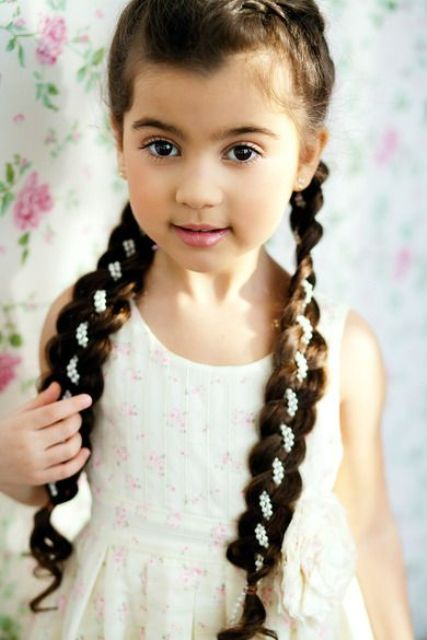Picture Of edgy braided hairstyles for little girls  19
