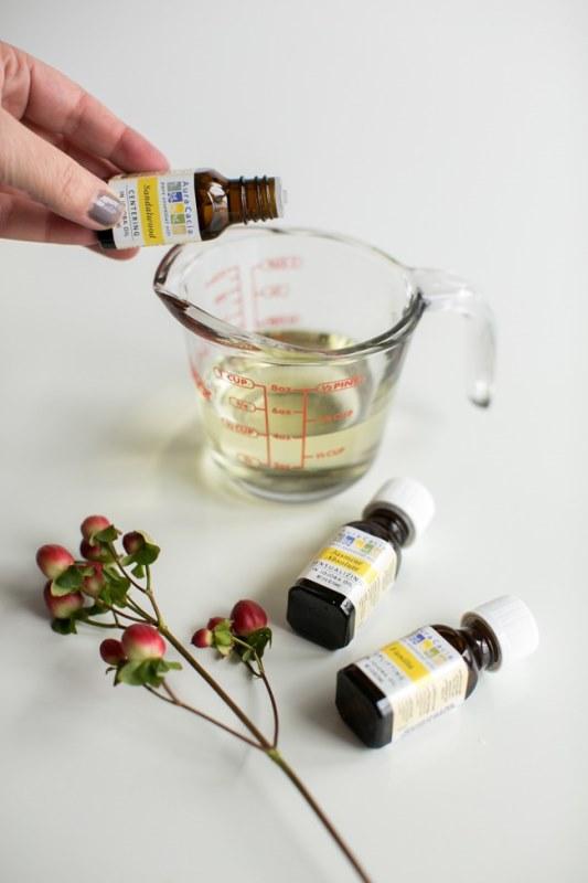 Romantic DIY Massage Oil To Make