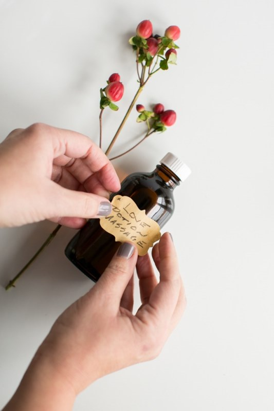 Picture Of romantic diy massage oil to make  3