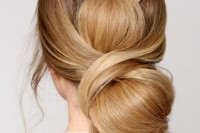 sophisticated-diy-wrapped-low-bun-hair-updo-1