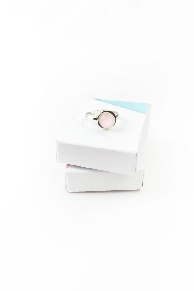 Picture Of trendy diy rose quartz ring  1