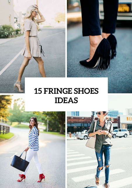 15 Sexy And Eye-Catching Fringe Shoes Ideas To Try