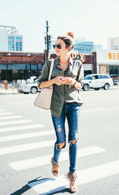 Sexy And Eye Catching Fringe Shoes Ideas To Try
