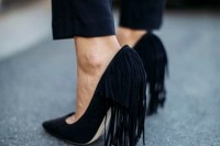 15 Sexy Fringe Shoes Ideas To Try 7