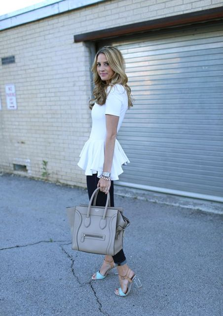 Chic Ways To Rock Fashionable Lucite Heels
