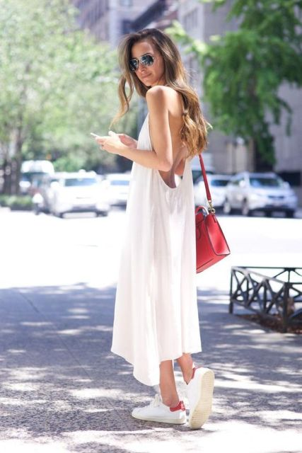 Picture Of Summer Outfits With Slip Dresses 15