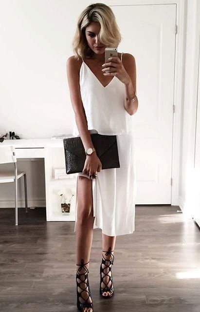 Summer Outfits With Slip Dresses