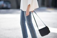 18 Fashionable Fringed Jeans Ideas For This Season 10
