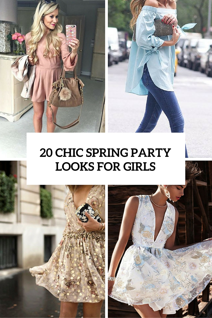 20 Chic And Comfy Spring Party Looks For Girls