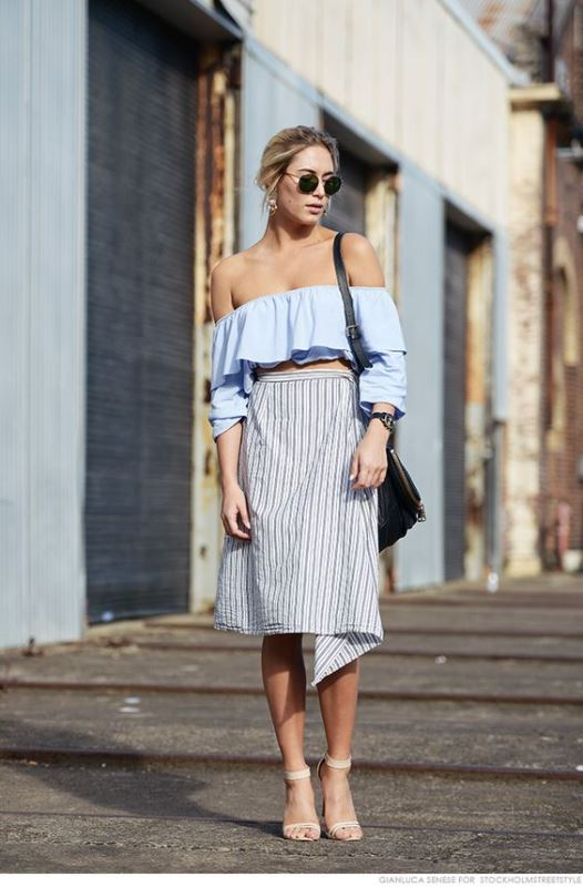 Best Off The Shoulder Looks To Recreate This Summer