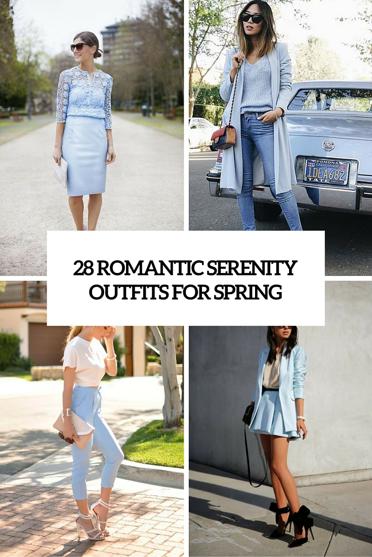 28 romantic serenity girl outfits for spring cover