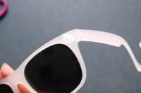 Funny DIY Jungle Leaf Print Sunglasses 6