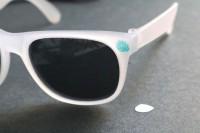 Funny DIY Jungle Leaf Print Sunglasses 8