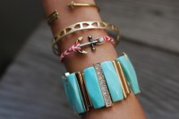 Nautical DIY Fishtail Braided Anchor Bracelet 4