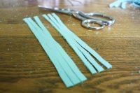Simple DIY Leather Tassel Necklace 4