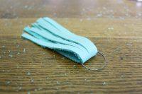 Simple DIY Leather Tassel Necklace 5