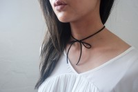 Very Easy-To-Make DIY Bow Chokers 9