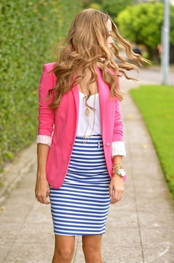 Picture Of bold girl work outfits to make a statement  11
