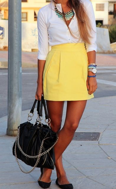 Picture Of bold girl work outfits to make a statement  6