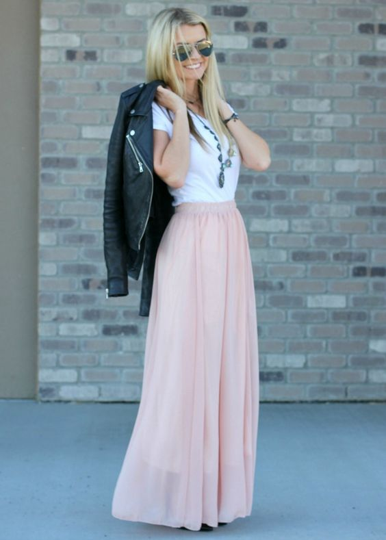 Picture Of chic and girlish rose quartz outfits for spring  11