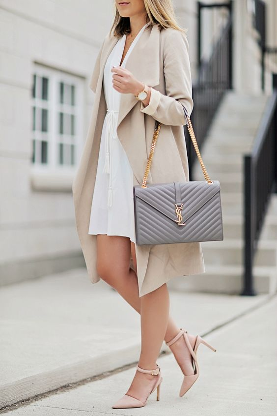 Picture Of chic neutral work outfits to recreate right now  29