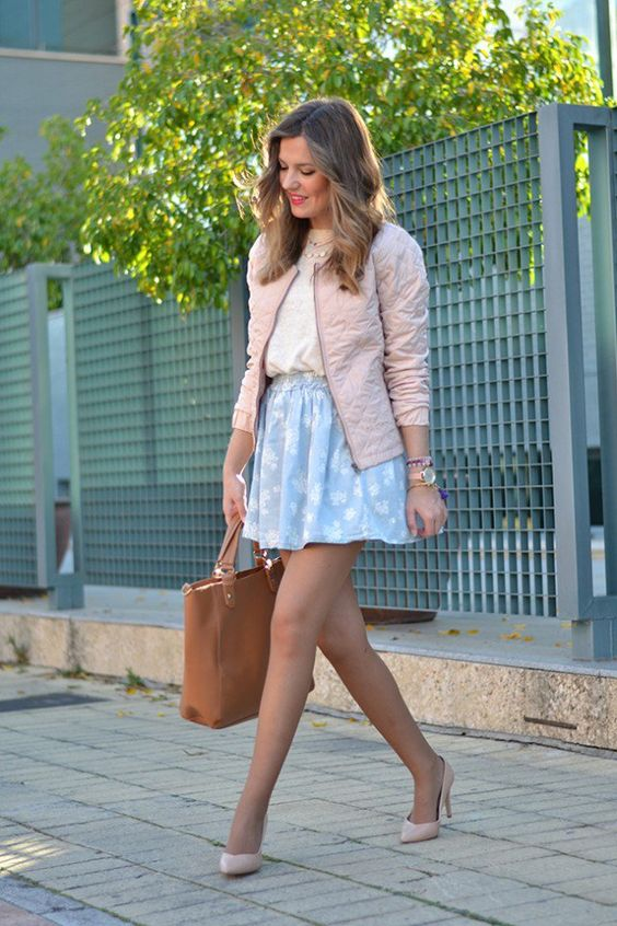 Romantic Serenity Girl Outfit Ideas For Spring