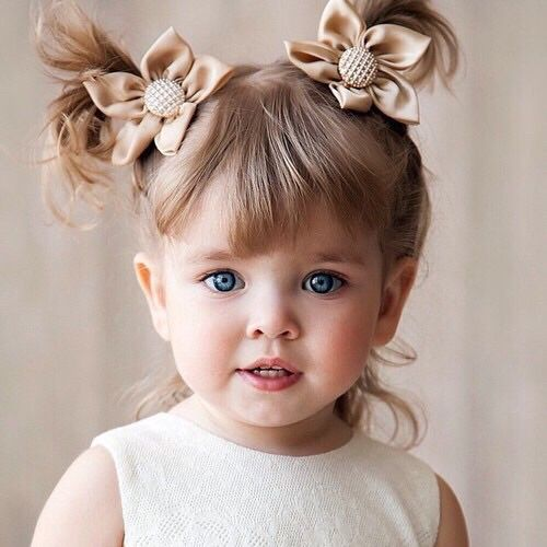 Picture Of cutest piggy tails hair ideas for little girls  1