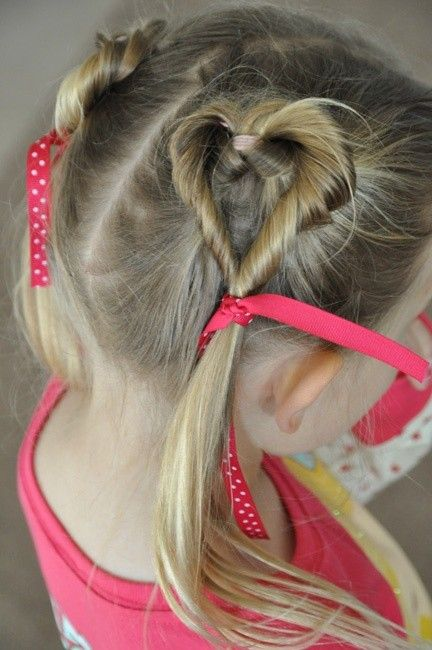 Picture Of Cutest Piggy Tails Hair Ideas For Little Girls 10