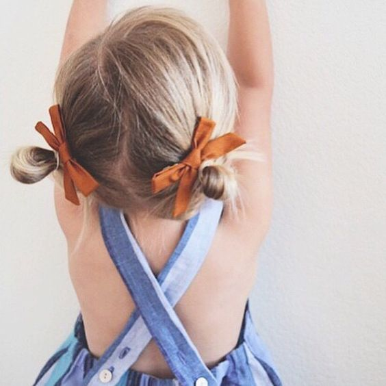 Cutest Piggy Tails Hair Ideas For Little Girls