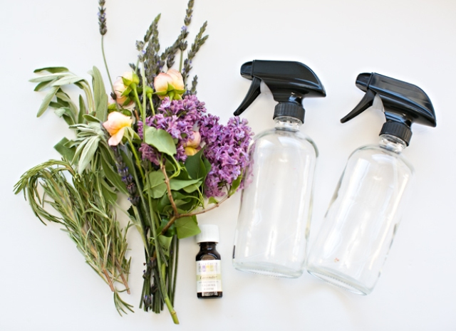DIY All Natural Floral Herb Perfume